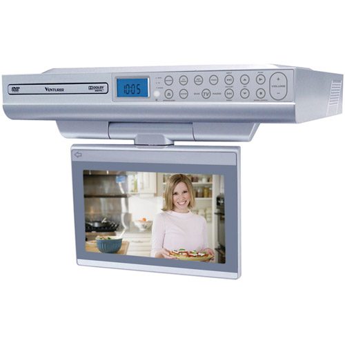 VENTURER KLV39082 8 UnderCabinet LCD TVDVD Combination
