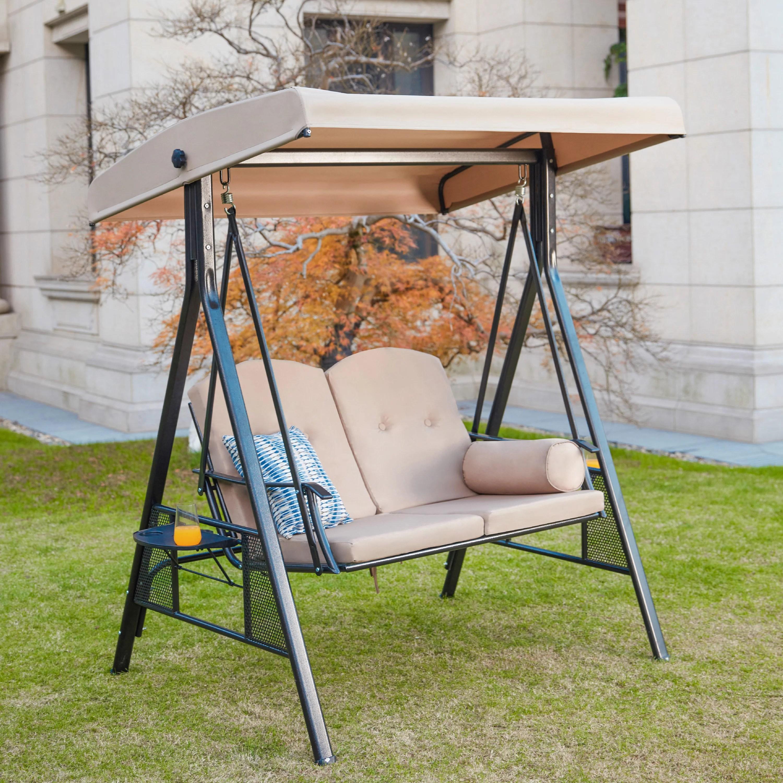 outdoor 2 seater swing chair walmart com