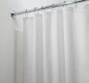 Mold Mildew Resistant Fabric Shower Curtain Liner White Walmart Com
