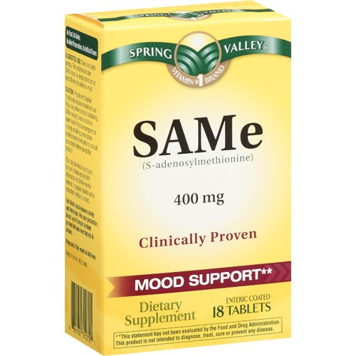 Spring Valley Same 400 Mg Dietary Supplement 18 Ct