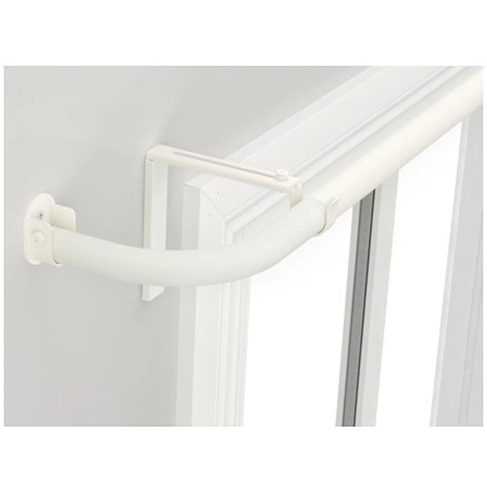 ikea curtain rod combination bay window silver color 82020 8298 1438 walmart com