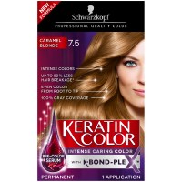 Schwarzkopf Keratin Color Permanent Hair Color Cream, 7.5 ...
