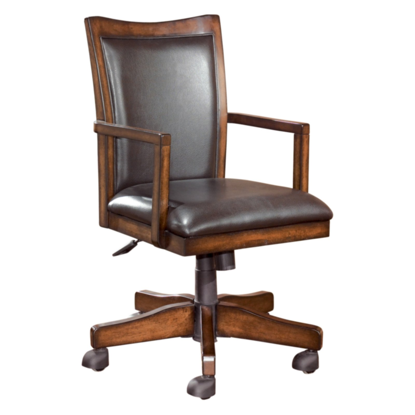 Home Office Desk Chairs Signature Design By Ashley Hamlyn Home Office Executive Swivel Desk Chair