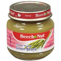 Beech-Nut Tender Young Green Beans Stage 1 Baby Food, 2.5 ...