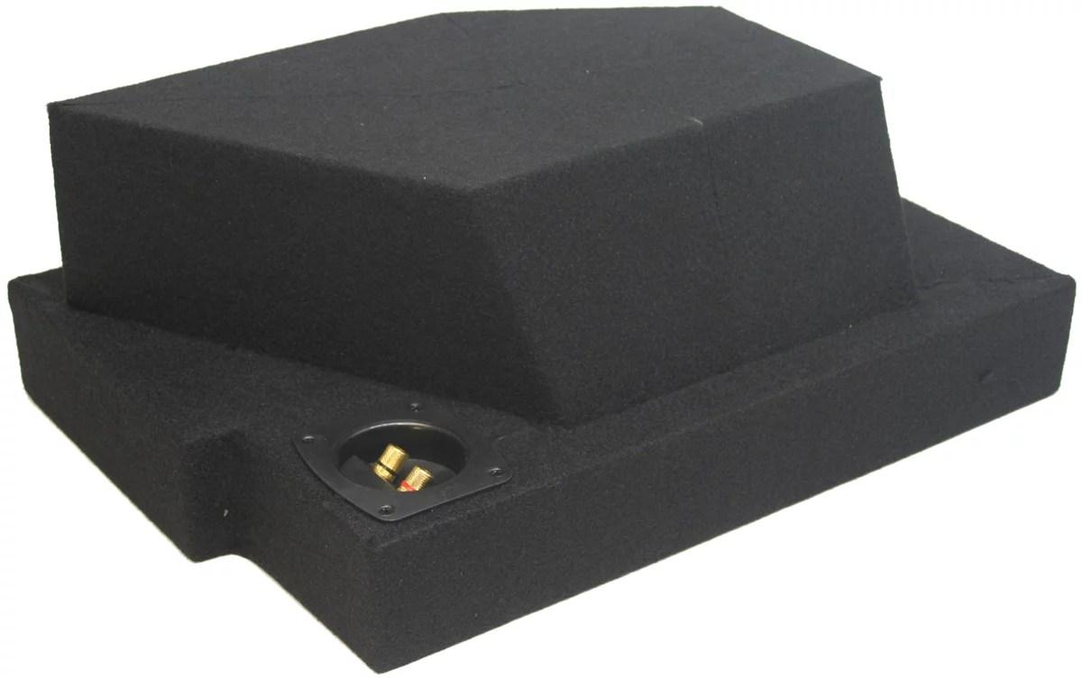 hight resolution of custom truck dodge ram 02 15 quad cab single 10 sub enclosure subwoofer box walmart com