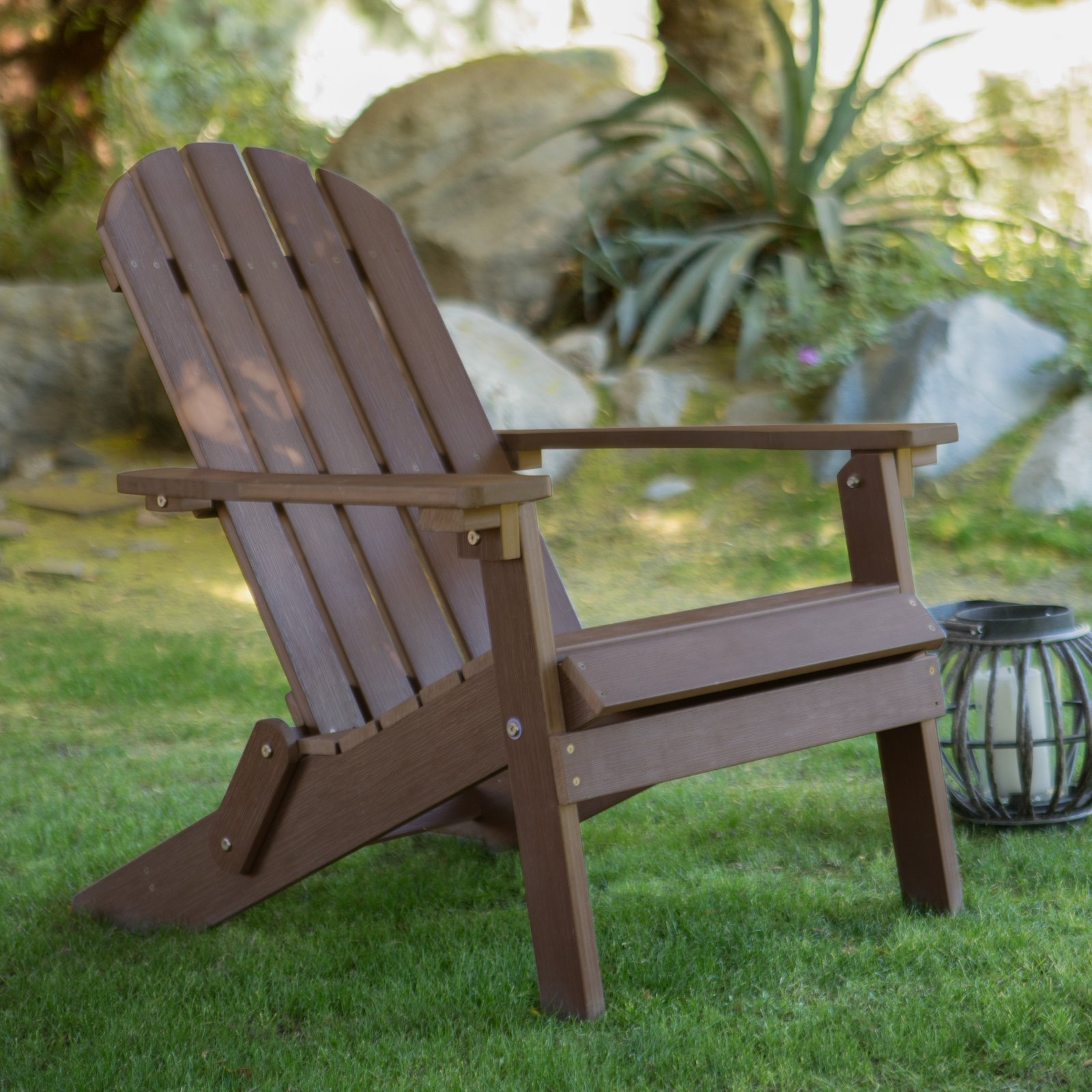 Lifetime Adirondack Chair Belham Living All Weather Resin Adirondack Chair Chocolate Brown