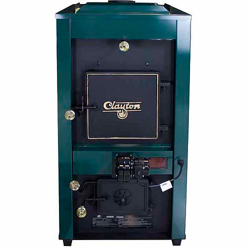 US Stove Clayton, Coal Only Furnace with Draft Kit, Twin