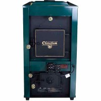 US Stove Clayton, Coal Only Furnace with Draft Kit, Twin ...