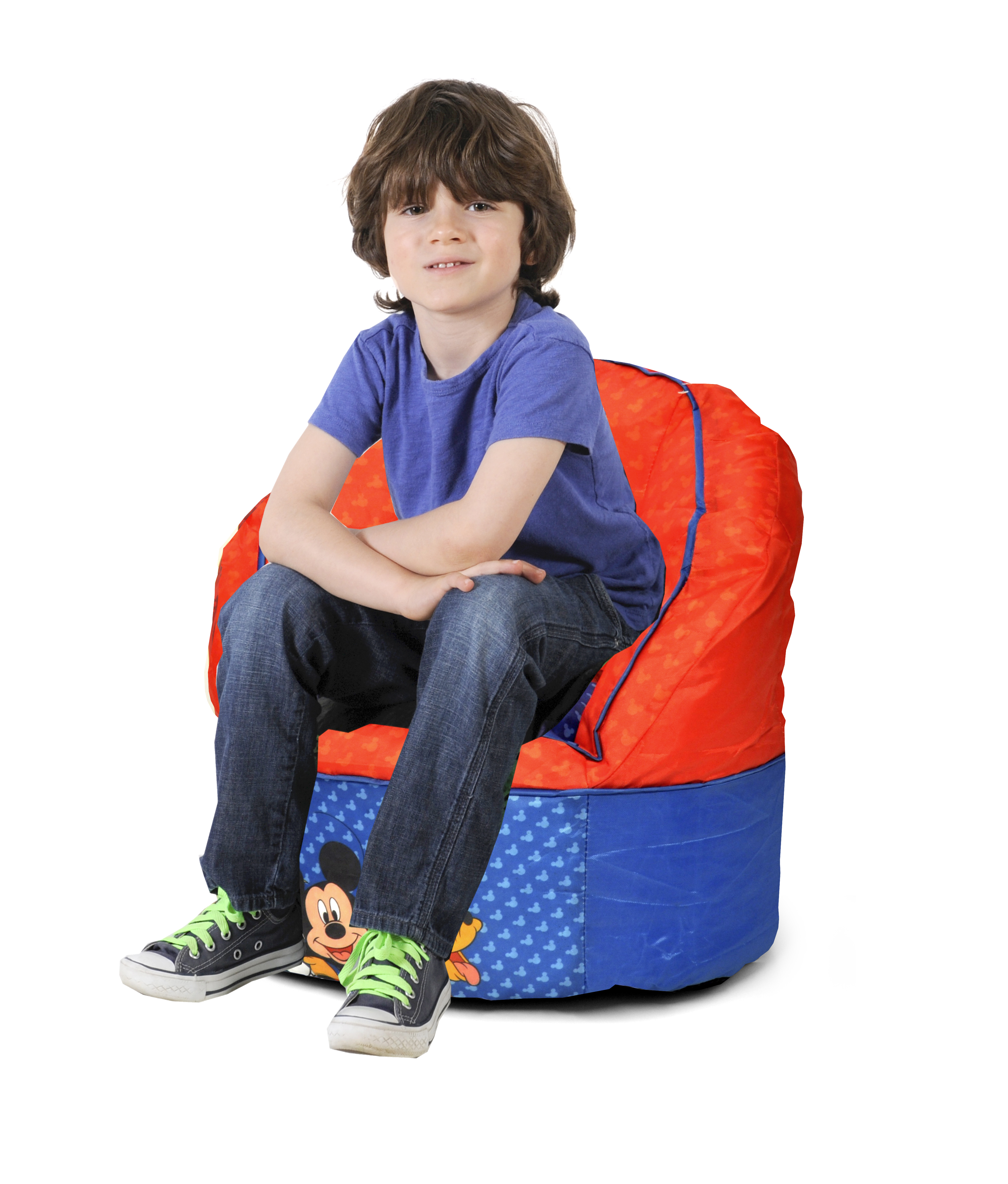 toddler bean bag chairs desk chair red disney mickey mouse kids walmart com
