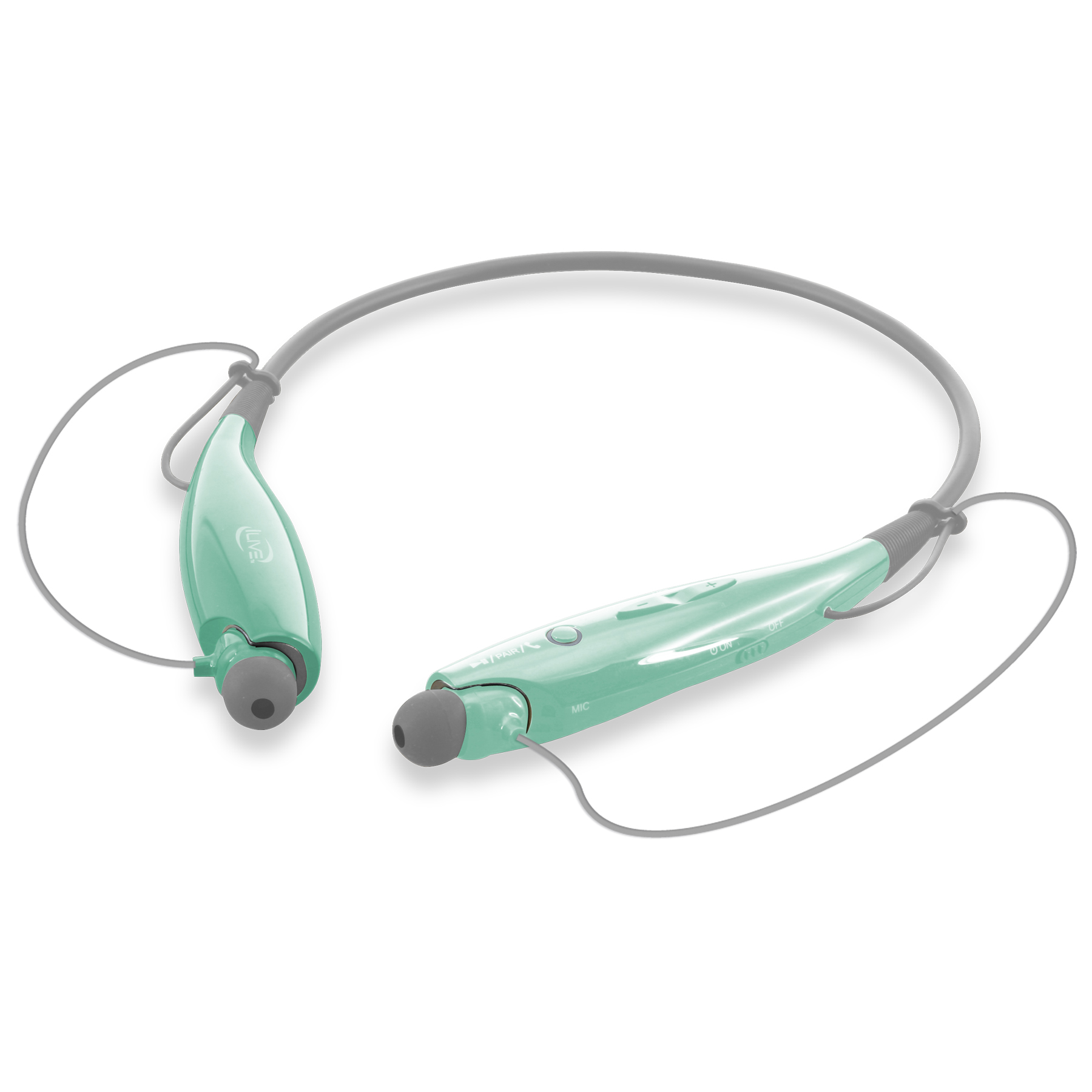 hight resolution of ilive wireless stereo neckband headset iaeb25 multiple colors walmart com