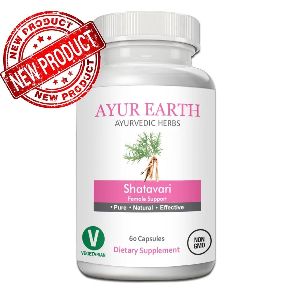 Shatavari Root - Ayurvedic Shatavari Capsules ...
