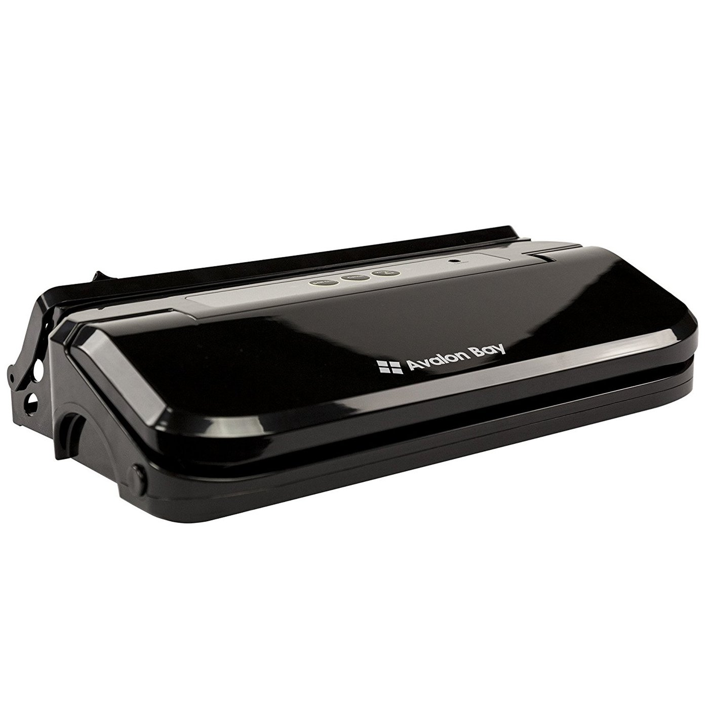 kitchen vacuum table storage avalon bay foodsealer200b 150w sealer for food black