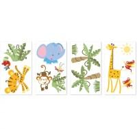 Fisher-Price Rainforest Wall Stickers - Walmart.com