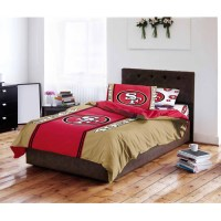 NFL San Francisco 49ers Bed in a Bag Complete Bedding Set ...