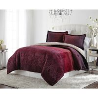 Lenox Amanda Velvet Plush Comforter Set - Walmart.com