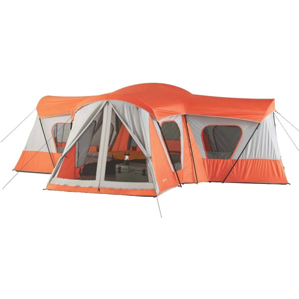 Ozark Trail 14-person 4-room Base Camp Tent