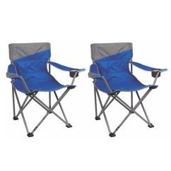 Big Folding Chairs Outdoor Directors 2 Coleman Camping Beach N Tall Oversized Quad Blue Walmart Com
