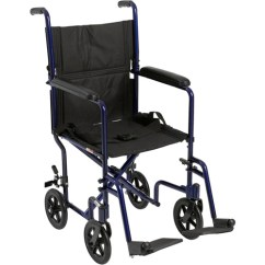 Transport Wheel Chair Tan Accent Drive Medical Lightweight Blue Wheelchair Walmart Com