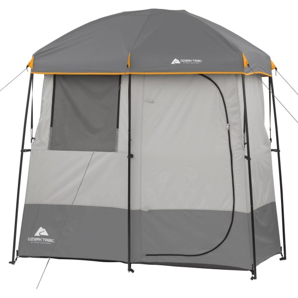 Ozark Trail 2-room -instant Shower Tent 817427015728