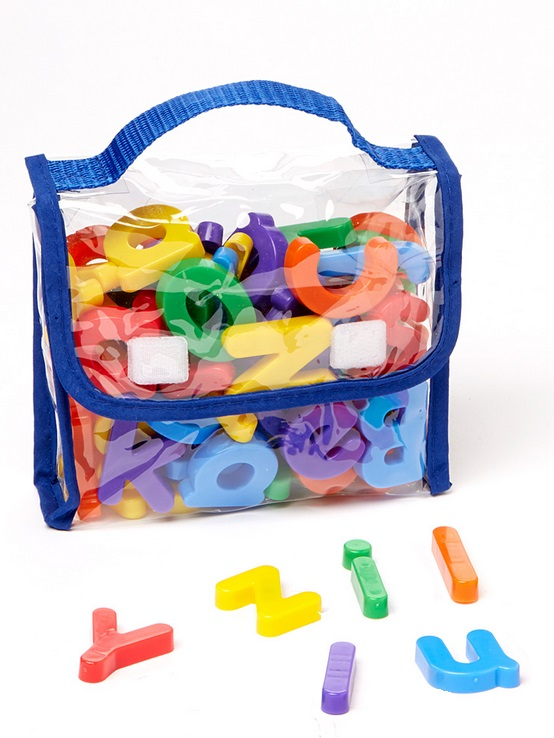 Edukid Toys Magnetic Letters Numbers 72 Poly Bag Ek4118