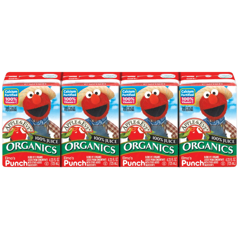 Apple Eve 100 Organic Juice Drink Elmo39s Punch 423