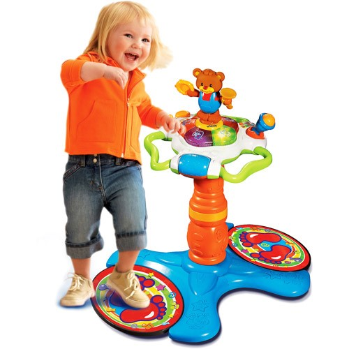 Vtech Sit To Stand Dancing Tower Walmart