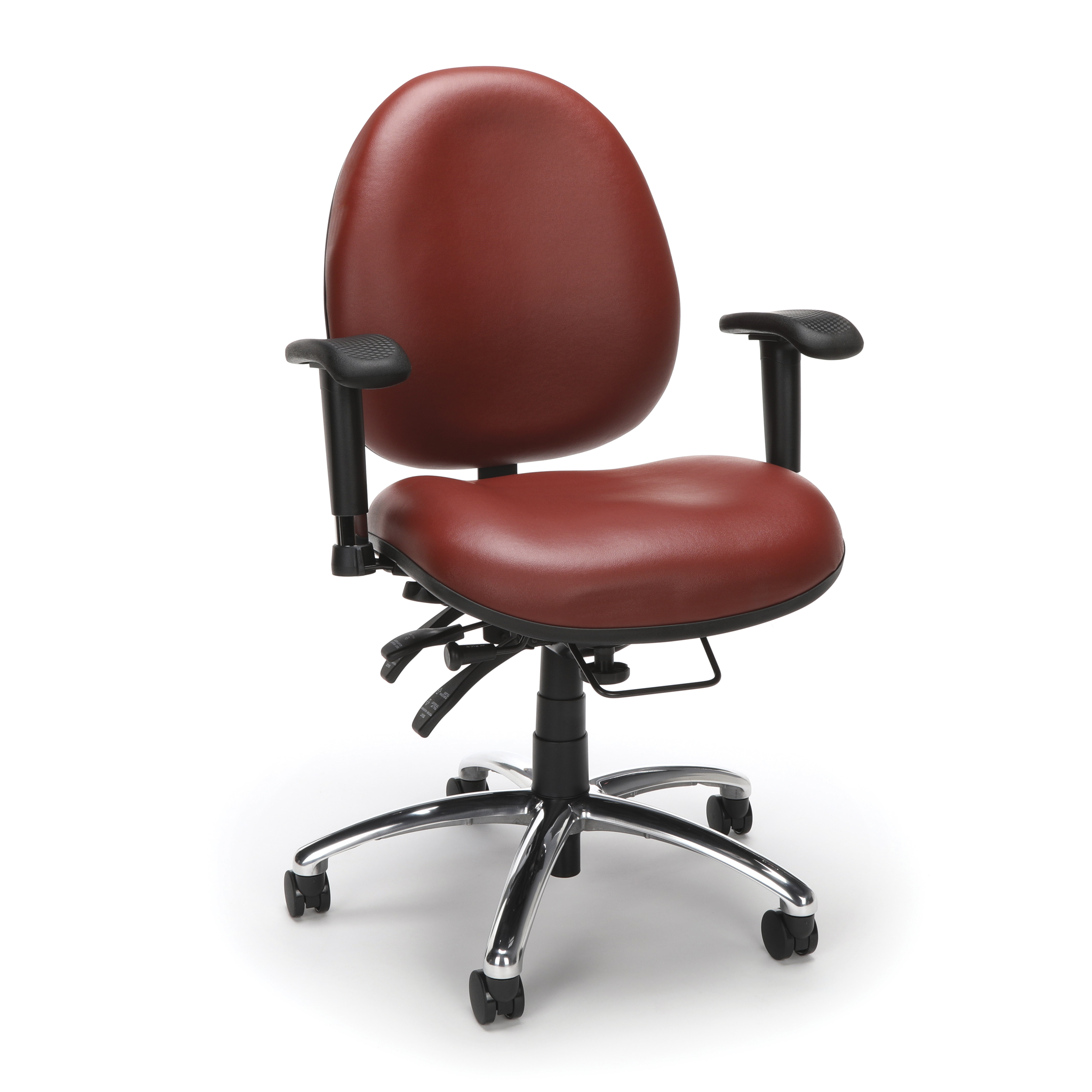 Tall Computer Chair Ofm Model 247 Vam 24 Hour Big And Tall Ergonomic Computer