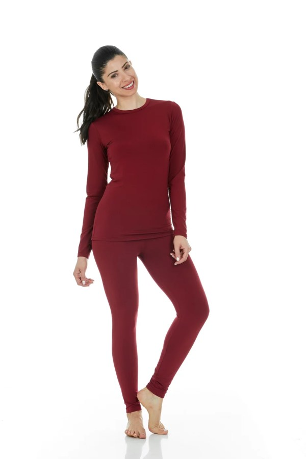 Thermajane Women' Ultra Soft Thermal Underwear Long Johns