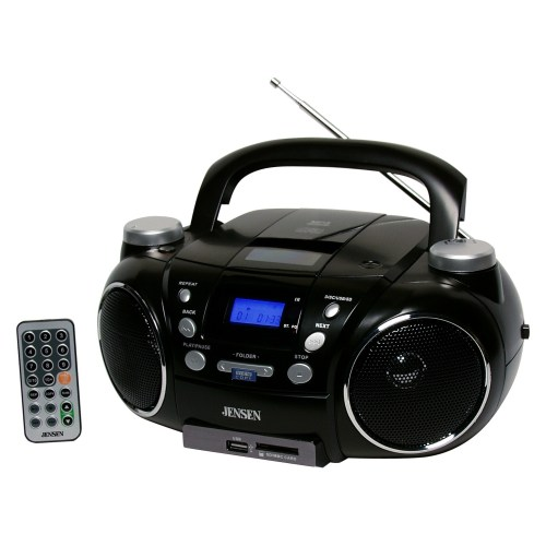 small resolution of jensen cd 750 portable am fm stereo cd player with mp3 encoder player walmart com