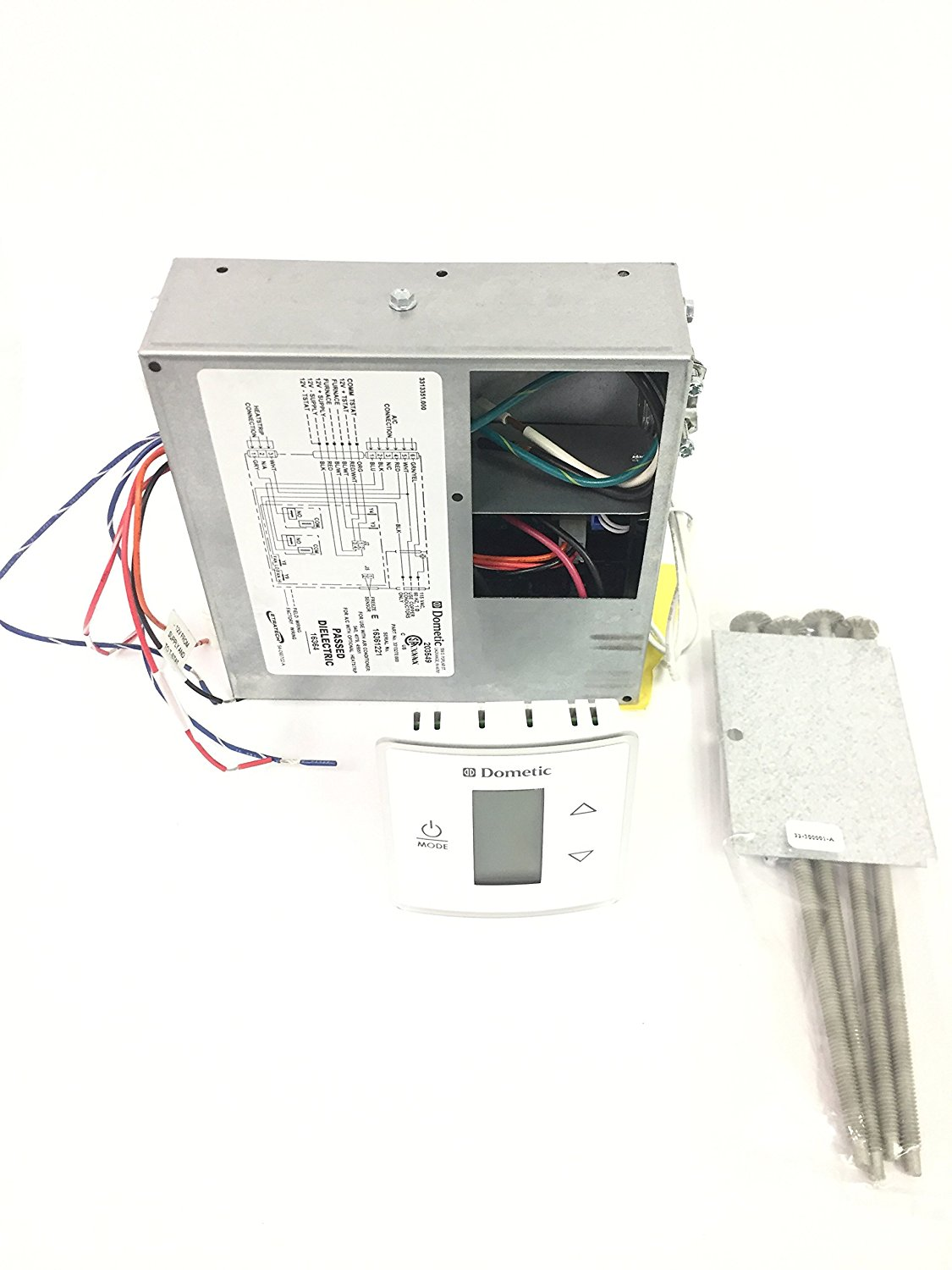 hight resolution of dometic 3316232 000 pw capacitive lcd touch thermostat kit replace 3313189 000 walmart com