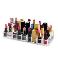 Acrylic Makeup and Lipstick Organizer Brush Holder Beauty