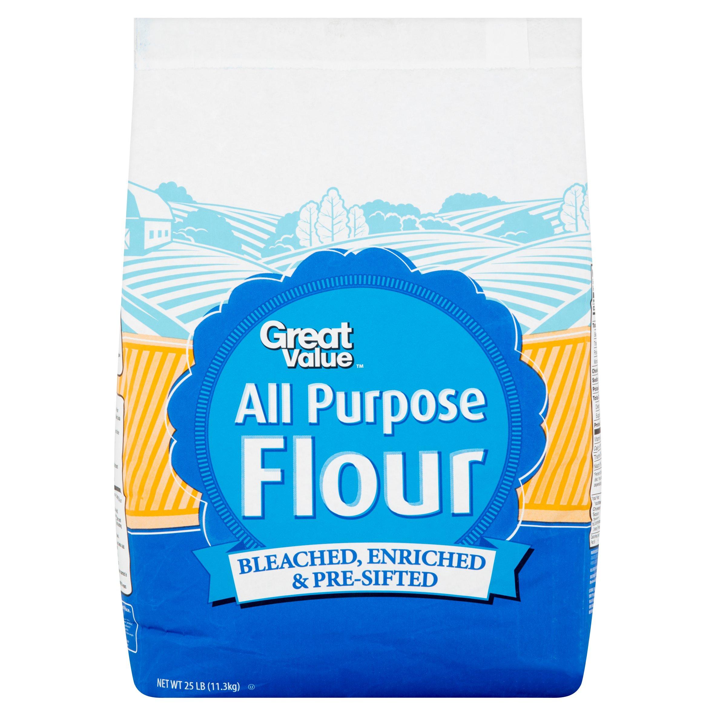 Great Value All Purpose Flour 25 lb  Walmartcom