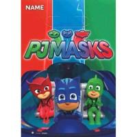 PJ Masks Favor Bags (8ct) - Walmart.com