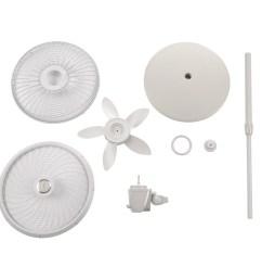 lasko 18 stand 3 speed fan with cyclone grill model s18902 white walmart com [ 2500 x 2500 Pixel ]