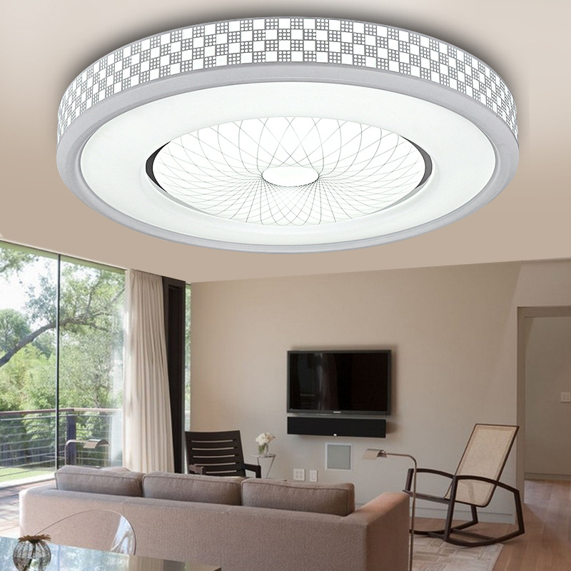 led ceiling light living room colors for with black furniture 12w 1200lm round flush mount fixture lamp home study kitchen bedroom lighting walmart com