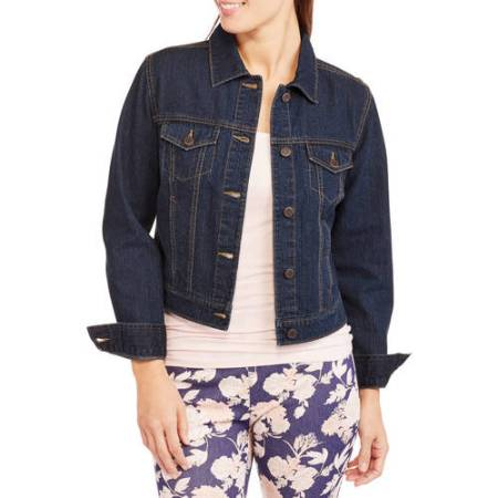 Faded Glory Women's Classic Denim Jacket