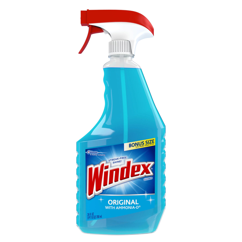 Windex Original Glass Cleaner Trigger 26 Fluid Ounces