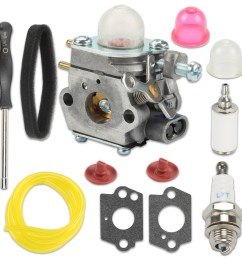 hipa tb21ec carburetor air filter for mtd troy bilt tb22 tb22ec tb32ec cub cadet bc280 cc212 ss270 yard man y25 craftsman replace wt 973 wt 973 1 753 06190  [ 1000 x 1000 Pixel ]