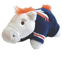 Denver Broncos - Horse Pillow Pet - Walmart.com