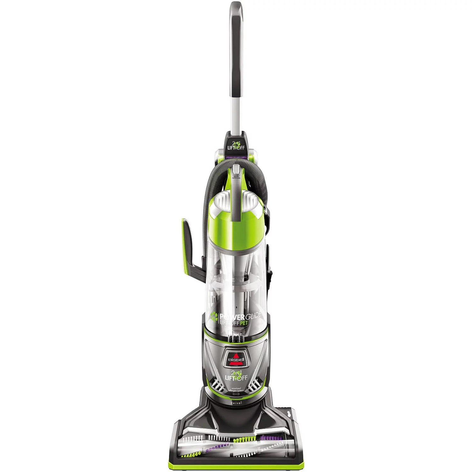 hight resolution of bissell powerglide lift off pet upright vacuum cleaner 2043w walmart com