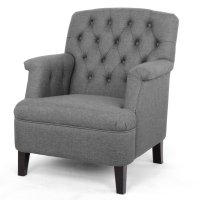 Baxton Studio Jester Arm Chair - Walmart.com