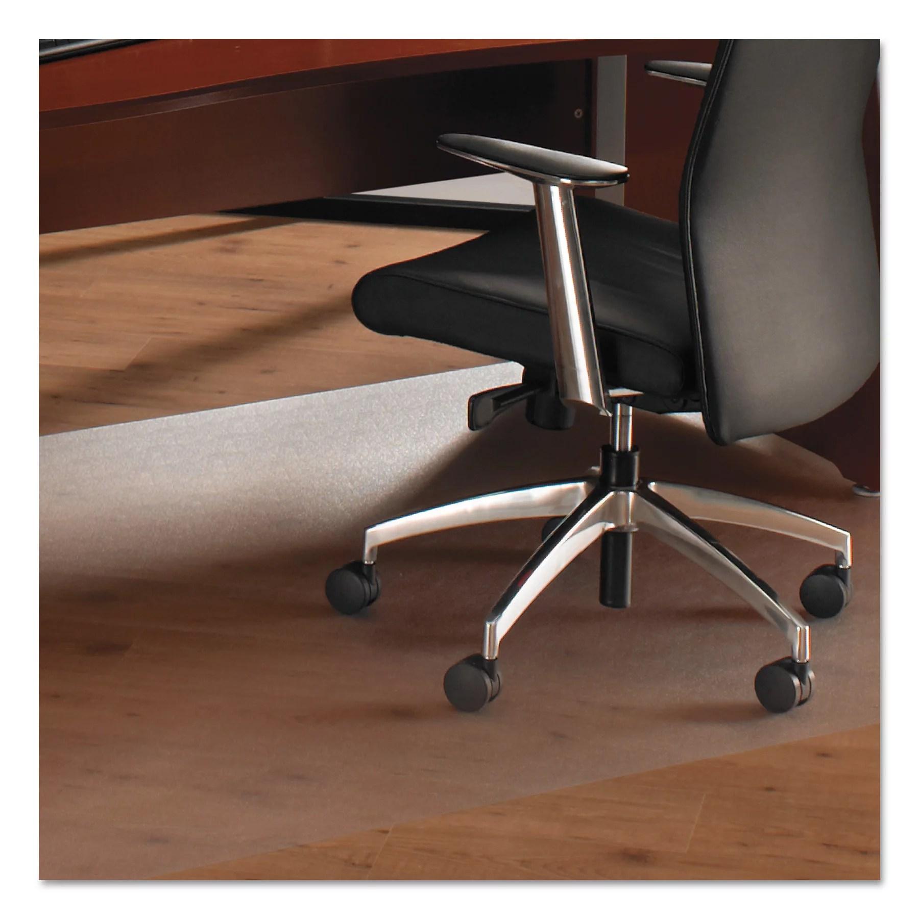 floortex chair mat boxed cushions cleartex ultimat 48 x 118 for carpet
