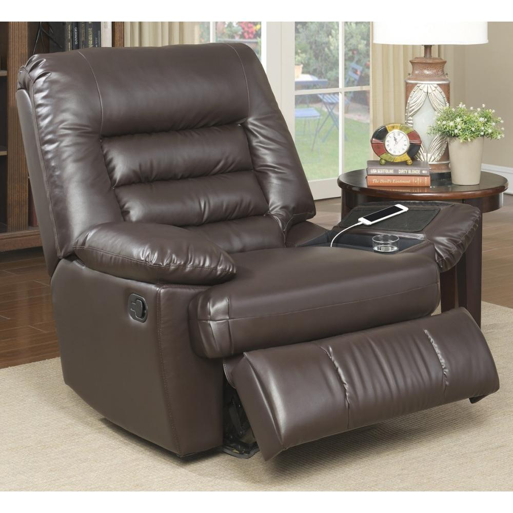 big and tall hunting chairs ex hire chair covers for sale serta memory foam massage recliner multiple colors in faux leather walmart com