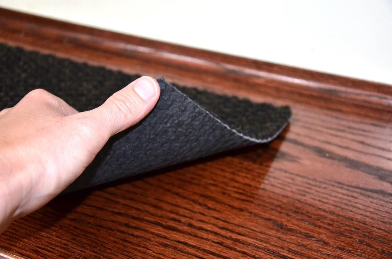 Black Indoor Outdoor Non Skid Slip Resistant Carpet Stair Treads   Indoor Outdoor Stair Treads   Anti Slip Stair   Ellsworth Indoor   Waterhog Stair   Carpet Stair   Rubber Backing