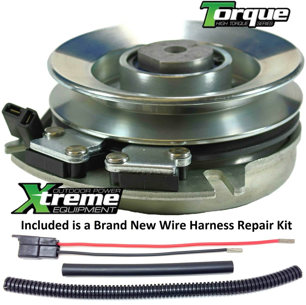 medium resolution of bundle 2 items pto electric blade clutch wire harness repair kit replaces husqvarna 120756 electric pto blade clutch w wire harness repair kit