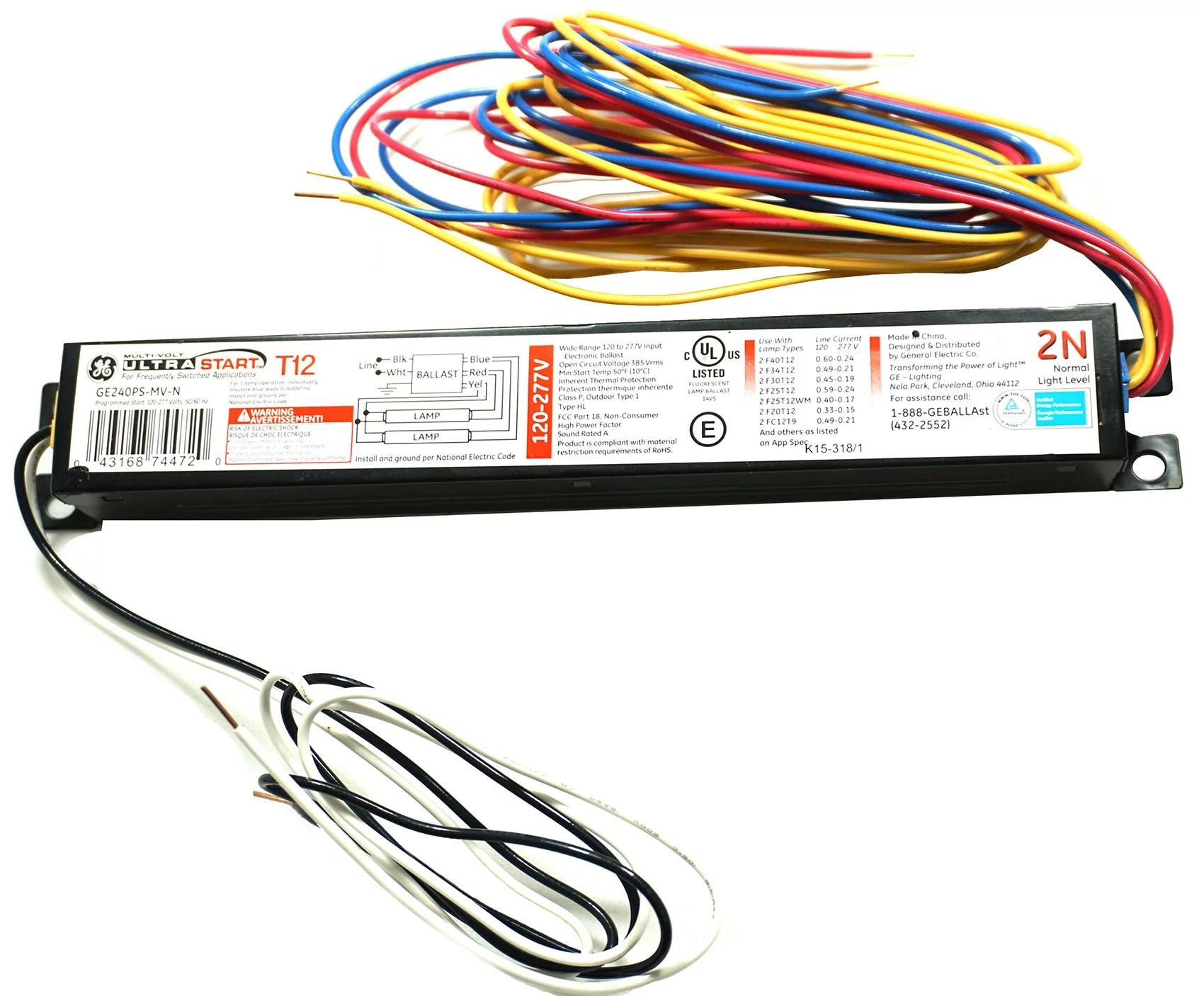 hight resolution of  fluorescent lamp on ge ballast wiring diagram on