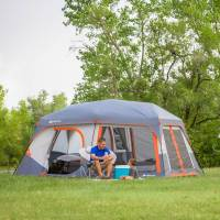 "Ozark Trail 14' x 10' x 78"" Instant Cabin Tent with Light"