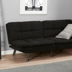 Mainstays Sofa Sleeper With Memory Foam Small Apartment Sofas Futon Multiple Finishes Ebay