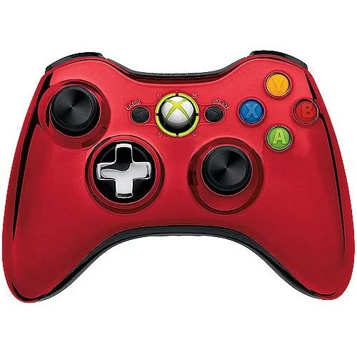 Microsoft Xbox 360 Special Edition Chrome Series Wireless