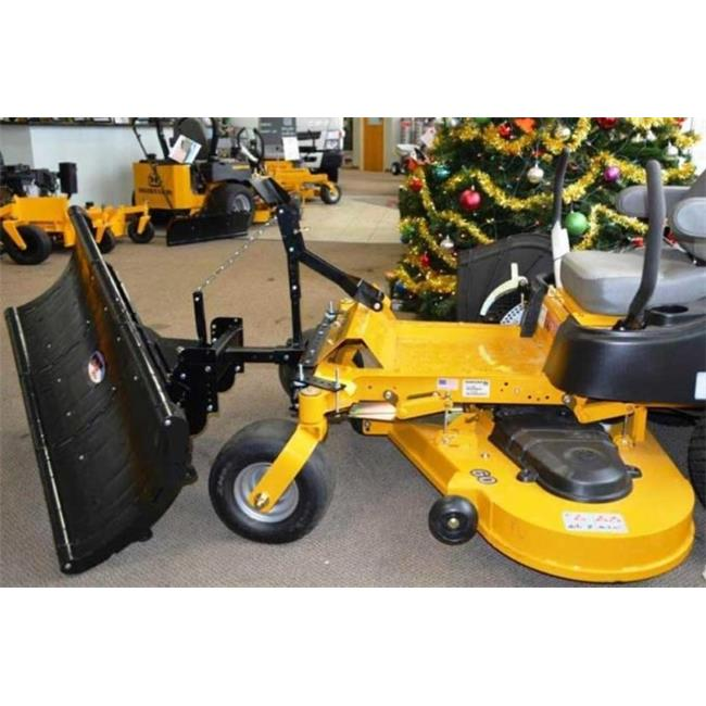 lawn tractor plow, features our patented lightweight rounded edge blade, which is made of a proprietary pc/abs composite material, and includes all parts necessary to mount the unit to your vehicle. Nordic Plow Np49sz 49 In Snow Plow For Zero Turn Mowers Walmart Com Walmart Com
